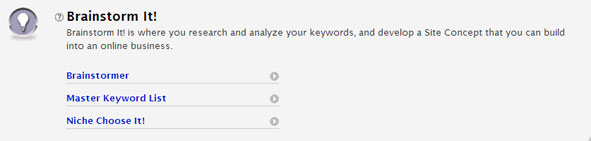 SiteSell's Brainstorm It Keyword Research Tool Review