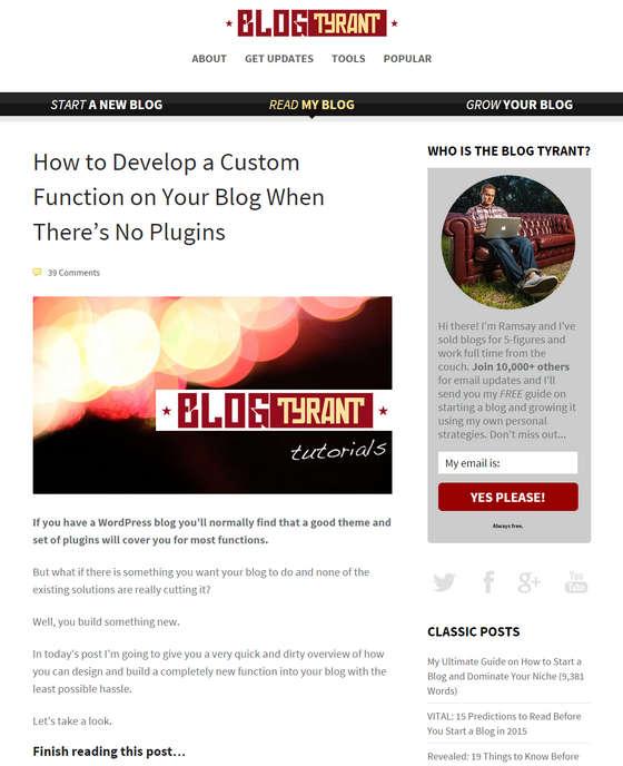 Blog Tyrant