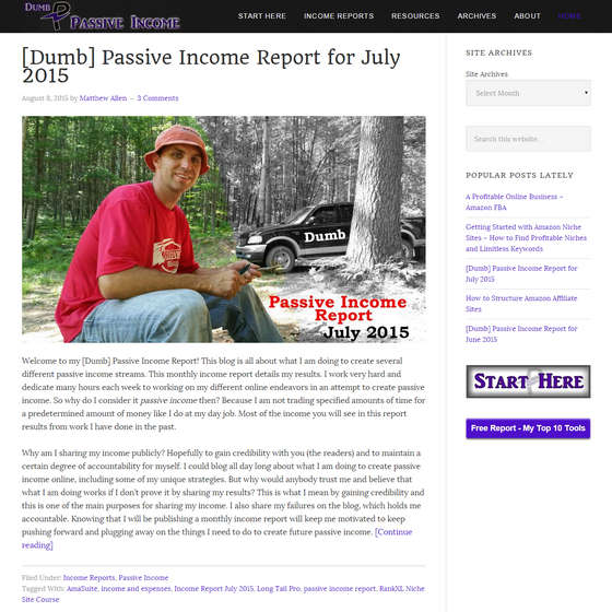 Dumb Passive Income