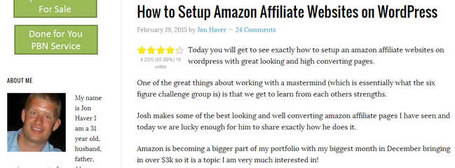 How to Setup Amazon Affiliate Websites on WordPress