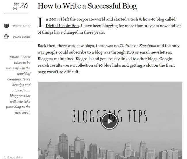 How to Write a Successful Blog