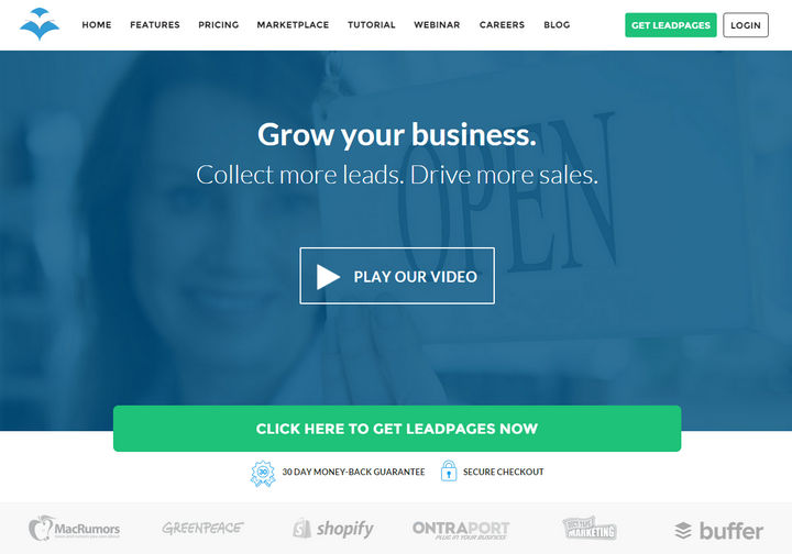 LeadPages Landing Page Generator Review