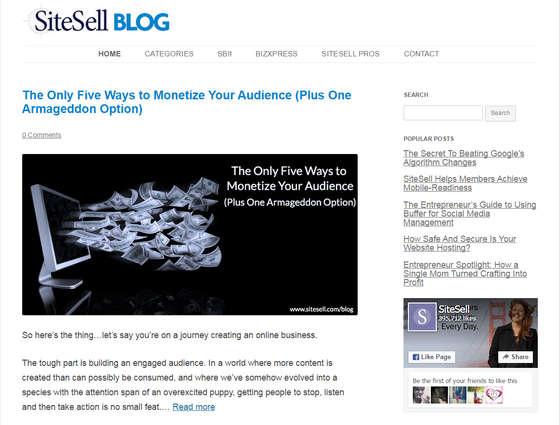Sitesell Blog