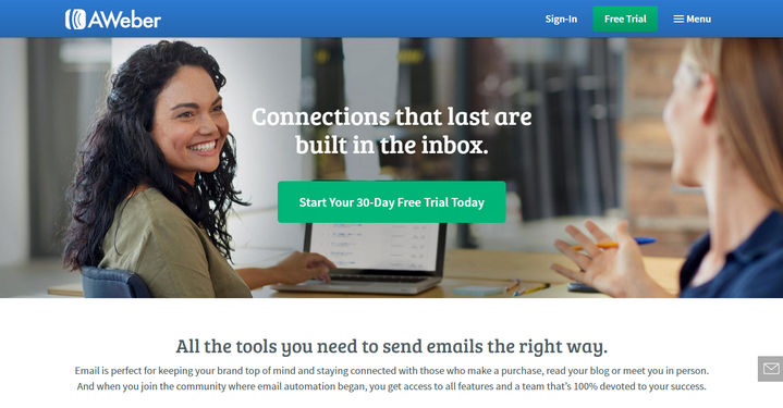 Aweber Email Marketing Software Review