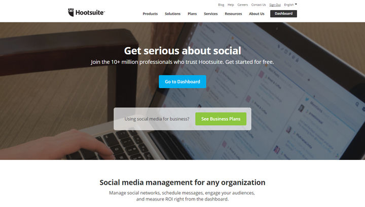 Hootsuite Social Media Management Service Review