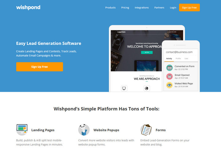 How Wishpond can Help to Generate More Business Leads